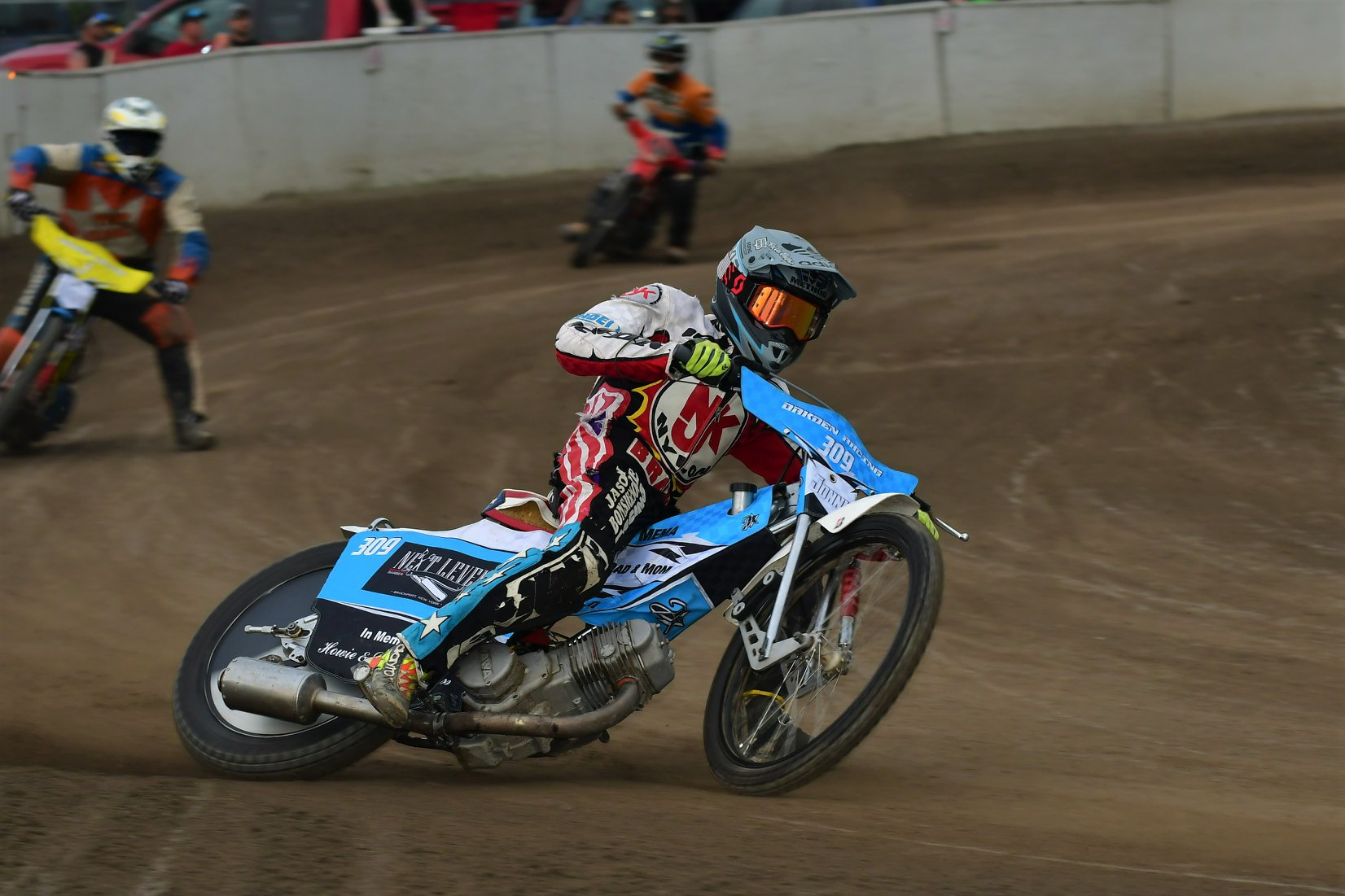 Speedway race and fundraiser organized by AKZ Speed Monkey Poland